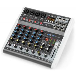 VonyxVMM-K602 6-Channel Music Mixer with DSP