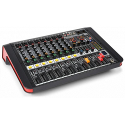 Power DynamicsPDM-M804A 8-Channel Music Mixer with Amplifier